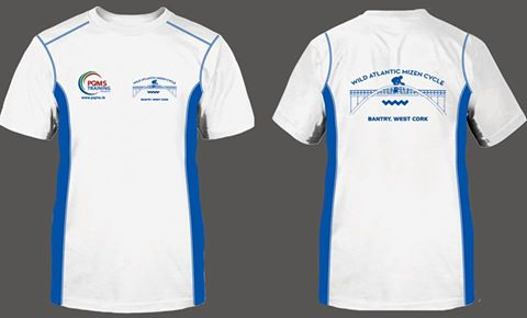 Wild Atlantic Mizen Cycle t-shirt